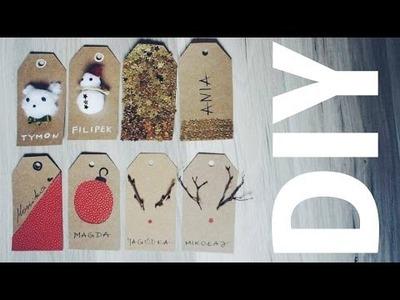 DIY: Bileciki na prezenty | Juszes