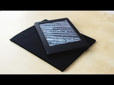DIY etui pokrowiec na kindle lub tablet