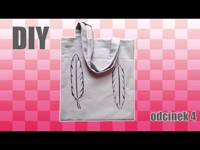 DIY-torba na zakupy z nadrukiem