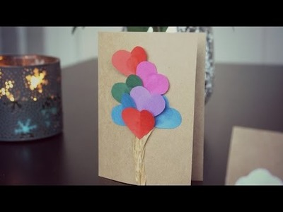 DIY | KARTKI WALENTYNKOWE.