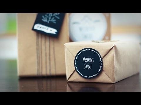 [DIY] Pakowanie prezentów - bileciki do wydrukowania ♡