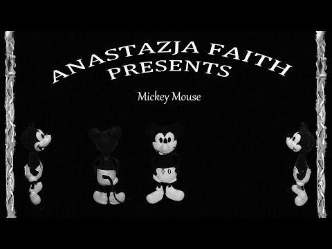 Lepiołki: Myszka Miki z 1928 roku PART 2 TUTORIAL Mickey Mouse PART 21928 polymer clay, made hand