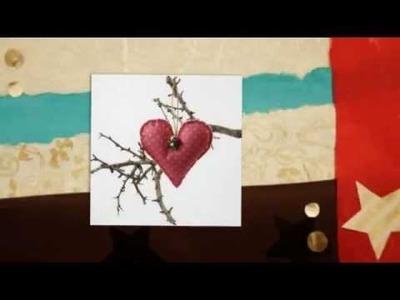 Świąteczna zawieszka z filcu DIY - tutorial
