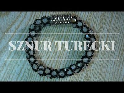 Sznur szydełkowo koralikowy - Ścieg turecki [TUTORIAL] | Qrkoko.pl