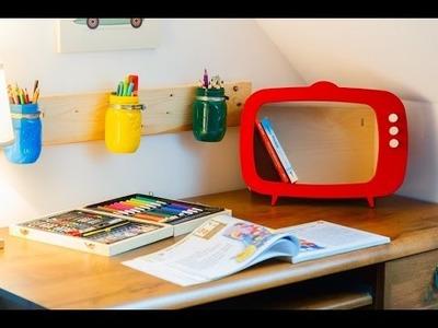Organizer Ucznia DIY