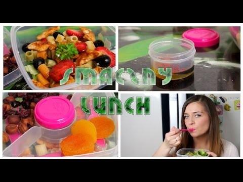 DIY Zdrowy Lunch LETNIA SAŁATKA do pracy szkoły lub na podróż + Zdrowa przekąska ❤ TheAmmisu