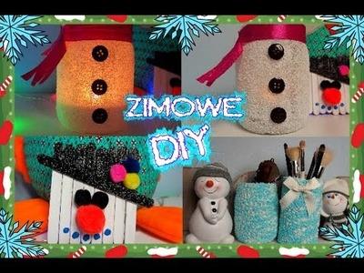 DIY ZIMOWE 2015 Dekoracje do pokoju Winter room Decor ❄️ TheAmmisu
