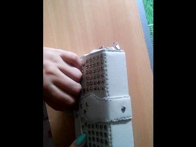 DIY tutorial torebka wizytowa, little bag #1