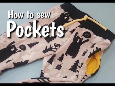 Wszywanie kieszeni - DIY | How to Sew Pockets