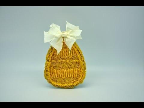 Koronkowe jajko #  Egg crafts DIY