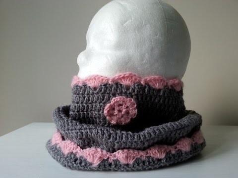 JAK ZROBIĆ SZYDEŁKOWY KOMIN W KSZTAŁCIE TUBY?cz.2,crochet baby chimney