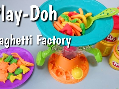 Fabryka spaghetti Play-Doh Spaghetti Factory | How to Make Play-Doh Pasta