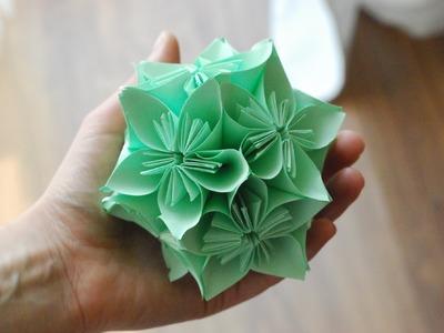 Jak zrobić Kulę Kusudama. How to make a Kusudama Ball