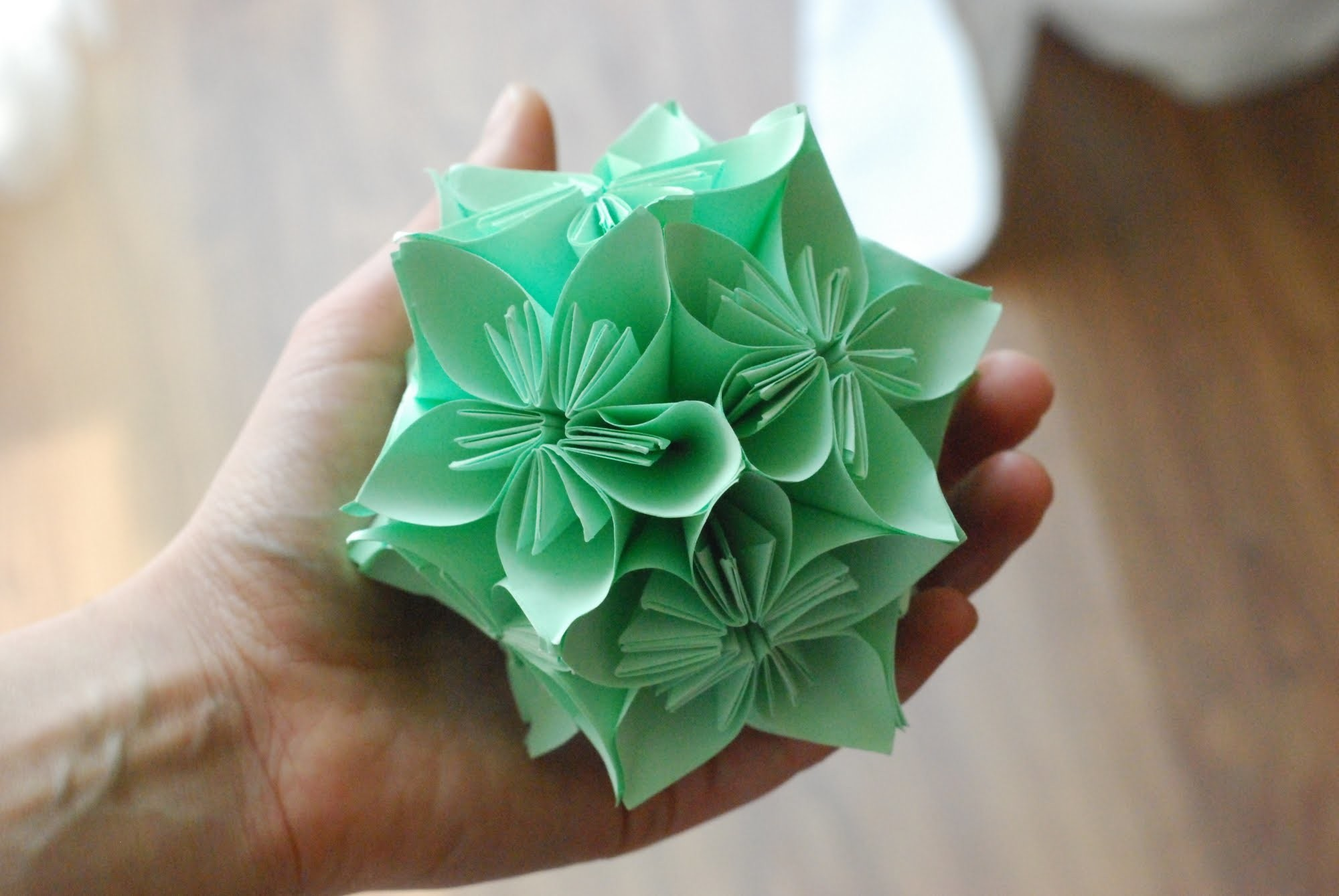 Jak zrobić Kulę Kusudama. How to make a Kusudama Ball