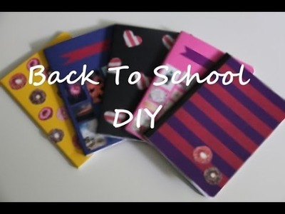 Back To School Diy - Zeszyty