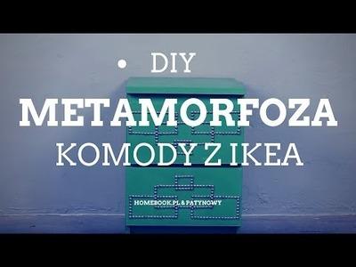 DIY: Metamorfoza komody z IKEA