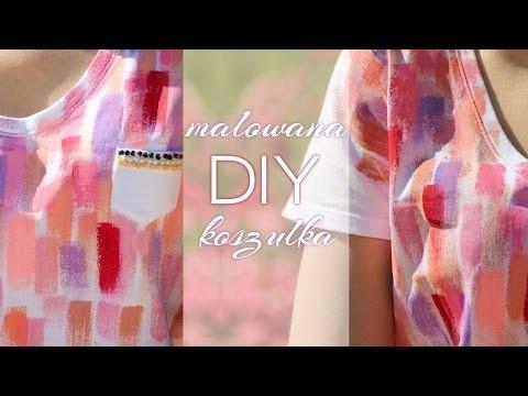 Modenfer: ♥DIY♥ Malowana koszulka