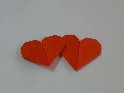 Serce - Origami #8 (Paper hearts)
