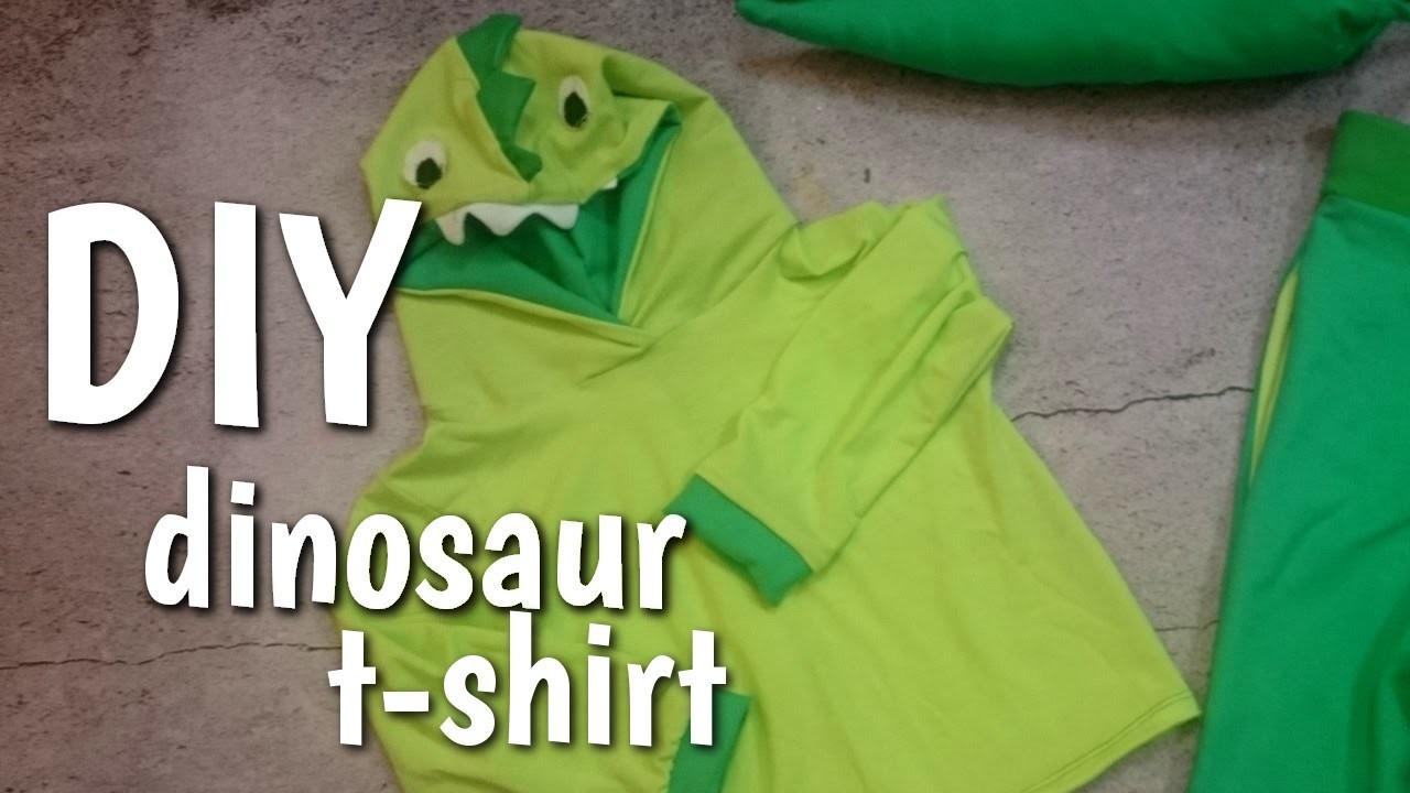 Jak uszyć bluzkę dinozaura DIY