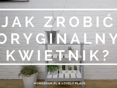 DIY: Jak zrobić oryginalny kwietnik w stylu skandynawskim?
