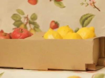 DIY Koszyczki.łubianki na truskawki i inne owoce, a także warzywa