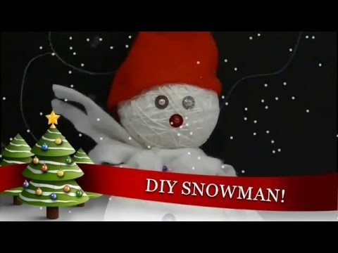 DIY SNOWMAN (Christmas). YuKo