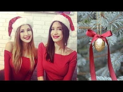 Moje bombeczki:D  Easy Christmas Decorations by Madeline