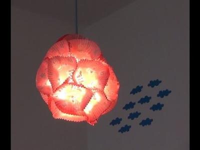 Jak zrobić swój własny klosz na lampę? zobacz diy