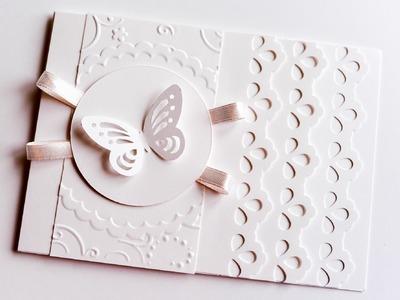 How to Make - Wedding First Communion Greeting Card - Step by Step | Kartka Ślubna Komunijna