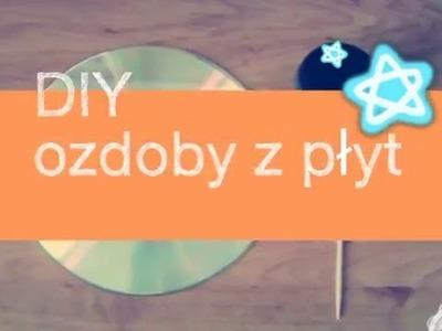 DIY Ozdoby z płyt
