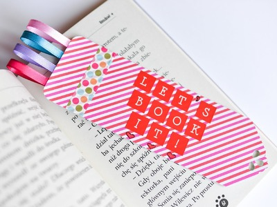 How to Make - Bookmark Great Gift - Step by Step | Zakładka Do Książki