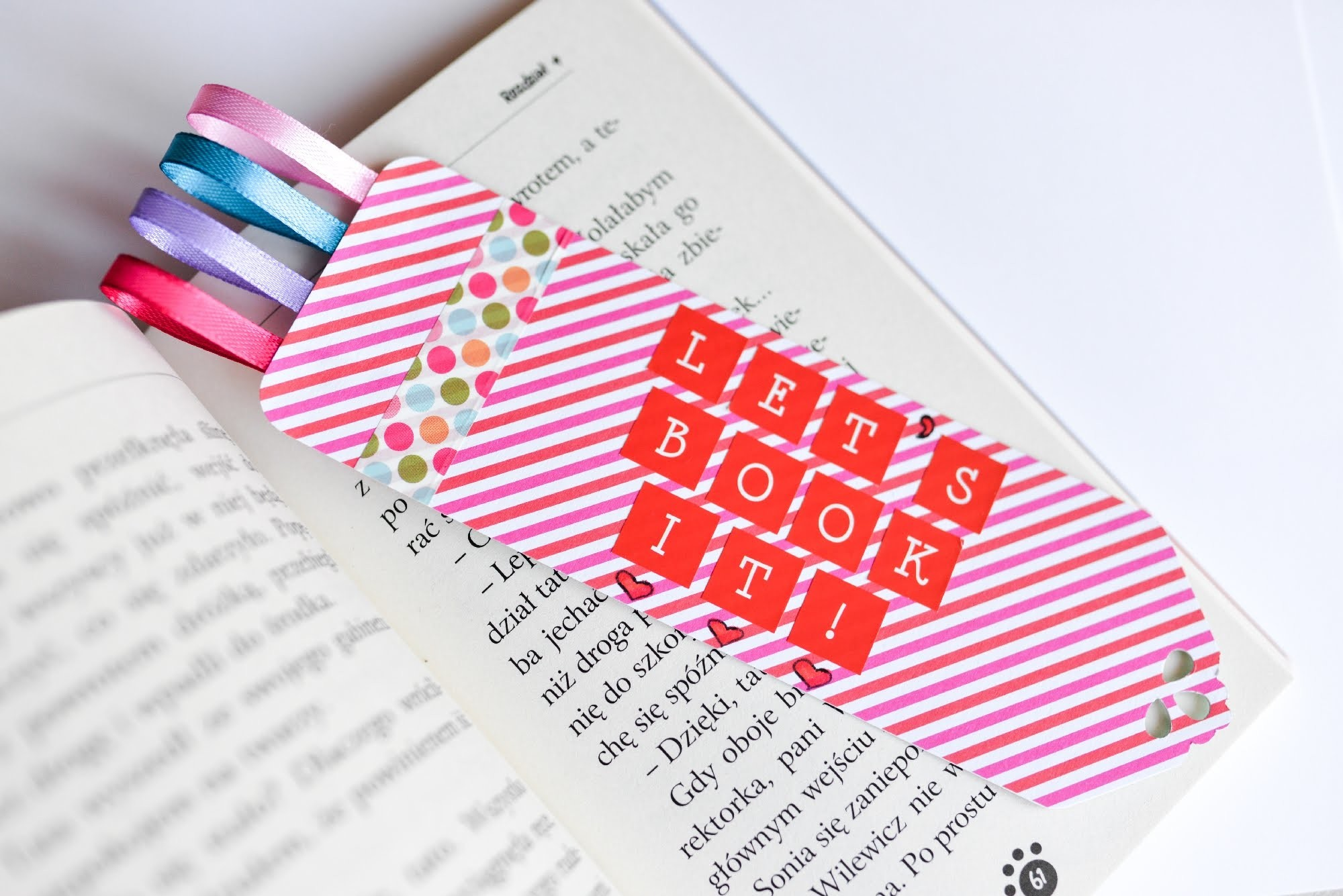 How to Make - Bookmark Great Gift - Step by Step   Zakładka Do Książki
