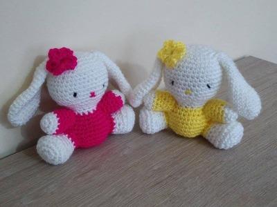 No 19# króliczek na szydełku - bunny on crochet