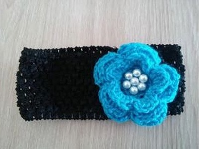 No 22# opaska na szydełku - armband on crochet - band