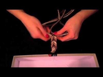 TUTORIAL VIDEO 1 - DIY Naszyjnik ze skręcanych sznurków