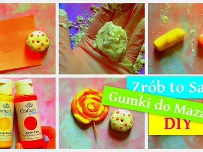 Zrób To Sam - Gumki do Mazania - DIY (back to school)