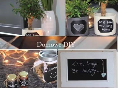 Domowe DIY - Pomysły na wykorzystanie samoprzylepnej tablicy