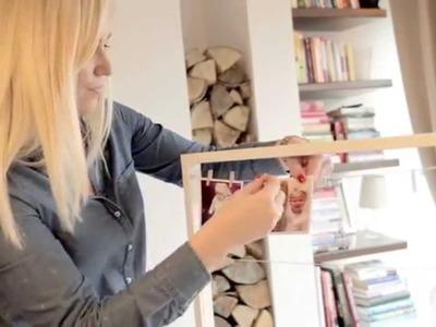 Jak przerobić ramkę z IKEI na fajną dekorację na ścianę?