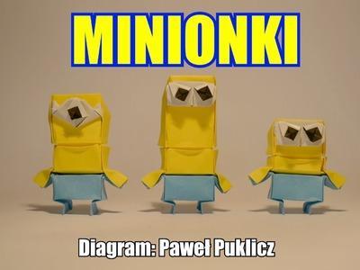 Origami - Minionki (Paweł Puklicz)