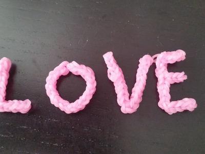 Napis LOVE- duże literki