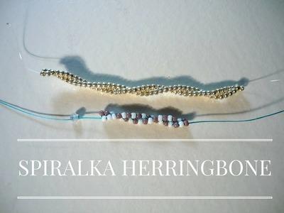Spiral Twisted Herringbone Stitch [TUTORIAL]   Qrkoko.pl