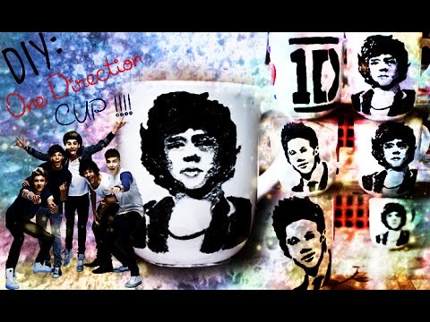 DIY One Direction Cup