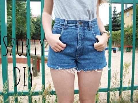 Jeansowe Szorty DIY ♥