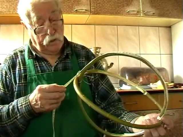 Jak powstają koszyki. Mieczysław Gajlewski z Radziej 23.03.2012r. 1.23 godz.m2p