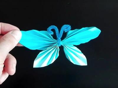 Lubię Tworzyć - Harmonijkowy motylek