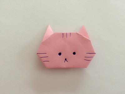 Kot z papieru origami krok po kroku po polsku