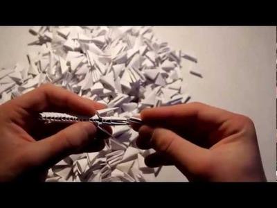 Origami Modułowe : Smoczek