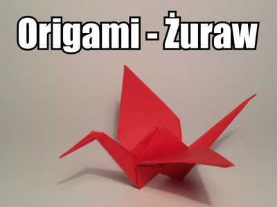 Origami - Żuraw