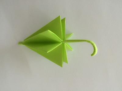 Parasolka z papieru  jak zrobić origami z papieru po polsku 2015