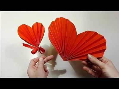 Jak zrobić Harmonijkowe Serce. How to make an Accordion Heart